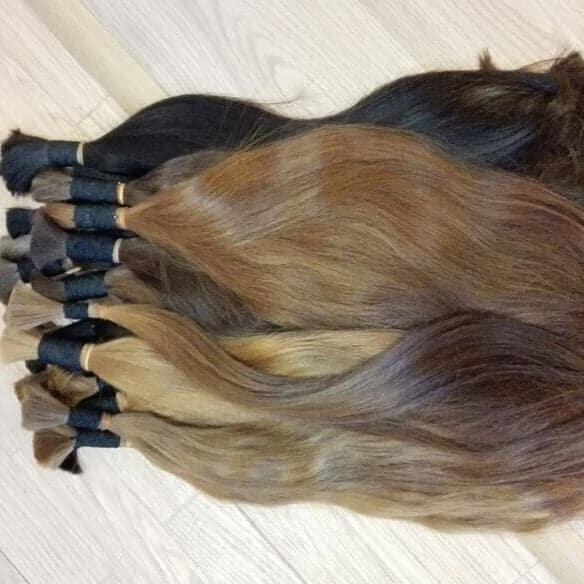 תוספות שיער 100% טבעי