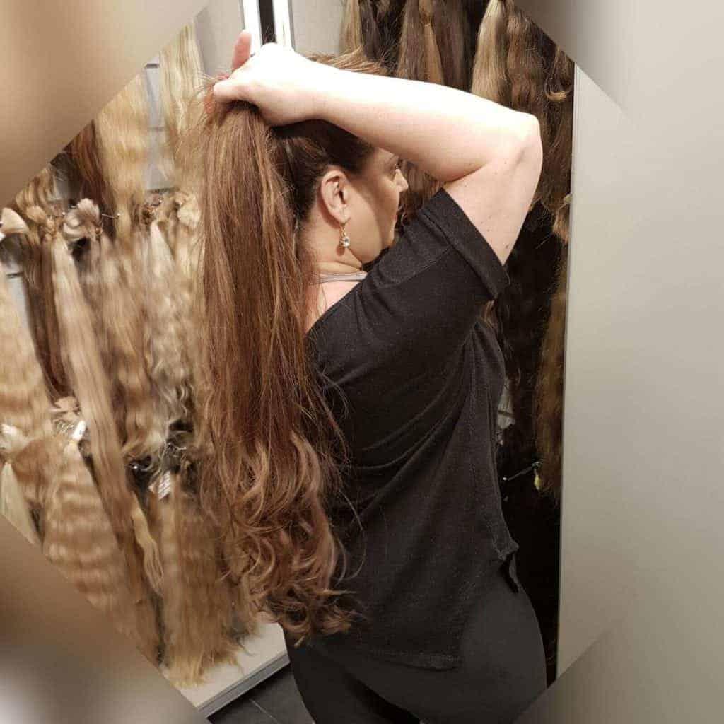 מילוי והארכת שיער