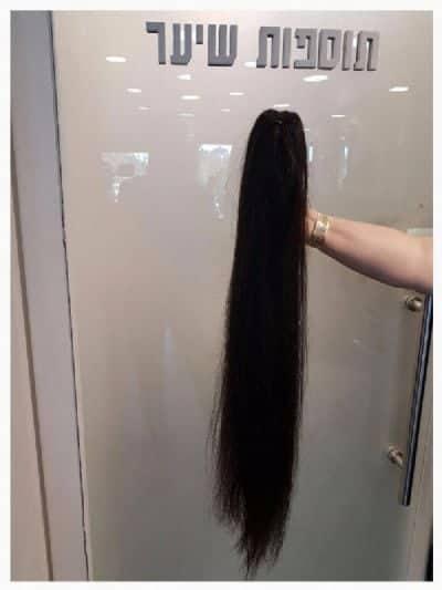 תוספות שיער זמניות - מחיר