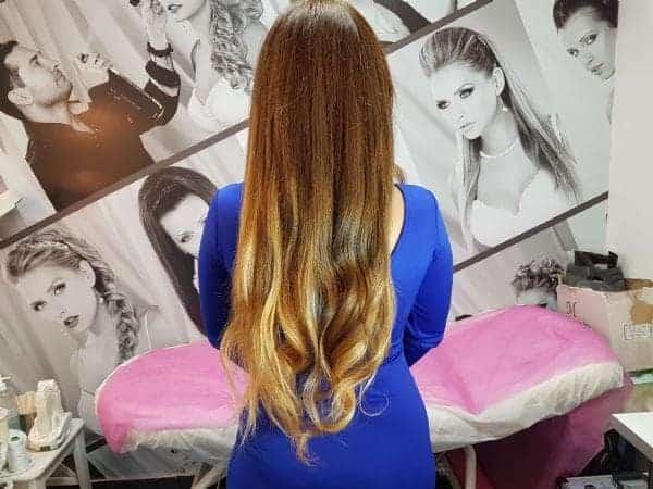 אביבית בר זוהר - הארכת שיער אומברה