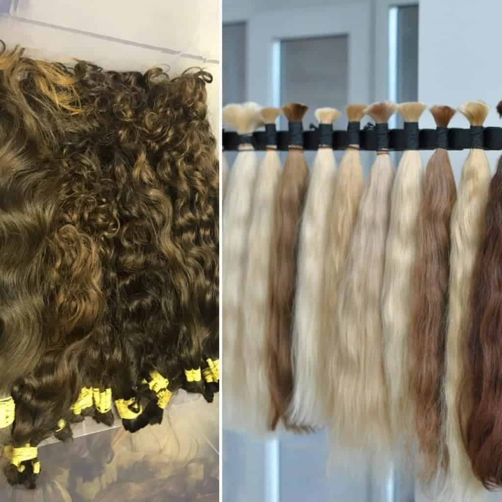 תוספות שיער עם קוקו