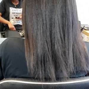 הארכת שיער שחור