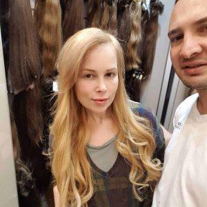הארכת שיער ג'ינג'י